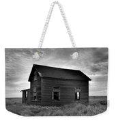 Old House In A Barren Field Weekender Tote Bag
