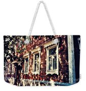 Old House In Moscow Weekender Tote Bag