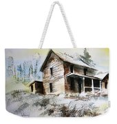 Old House Marysville Ghosttown Montana Weekender Tote Bag