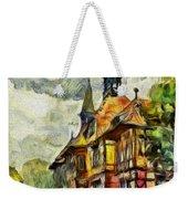 Old House Weekender Tote Bag