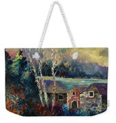 Old Houses In Hour Weekender Tote Bag