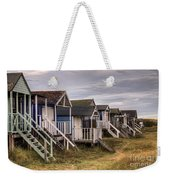 Beach Huts At Old Hunstanton Weekender Tote Bag