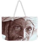 Old Indian Man Weekender Tote Bag
