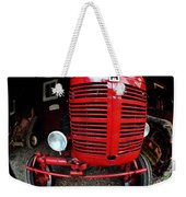 Old International Harvester Tractor Weekender Tote Bag