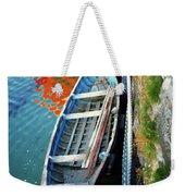 Old Irish Boat Weekender Tote Bag