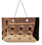 Old Iron Hinges Weekender Tote Bag