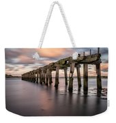 Old Jetty Near Castlerock Weekender Tote Bag