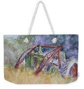 Old John Deere Tractor In The Back 40 Weekender Tote Bag