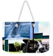 Old Kauai Village Clock Tower Weekender Tote Bag
