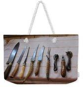 Old Knives Weekender Tote Bag