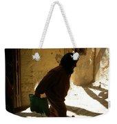 Old Lady Tangier. Weekender Tote Bag