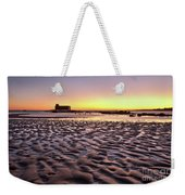Old Lifesavers Building Covered By Warm Sunset Light Weekender Tote Bag