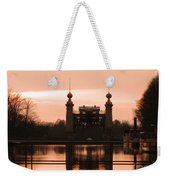 Old Lift Lock Weekender Tote Bag