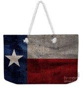 Old Lone Star Flag Weekender Tote Bag