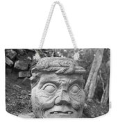 Old Man Of Copan Sculpture, Also Known As The Pauahtun Head From Weekender Tote Bag