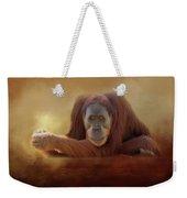 Old Man Orangutan Weekender Tote Bag