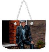 Old Man Waiting Weekender Tote Bag