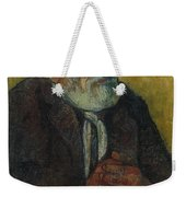 Old Man With A Stick Weekender Tote Bag