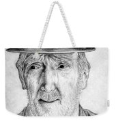Old Man With Hat Weekender Tote Bag
