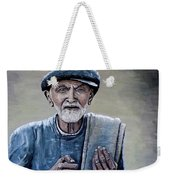 Old Man With His Stones Weekender Tote Bag