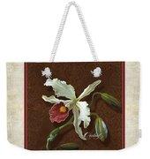 Old Masters Reimagined - Cattleya Orchid Weekender Tote Bag