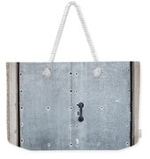 Old Metal Door Weekender Tote Bag