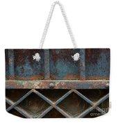 Old Metal Gate Detail Weekender Tote Bag