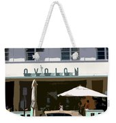 Old Miami Beach Weekender Tote Bag