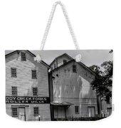 Old Mill Buildings Weekender Tote Bag