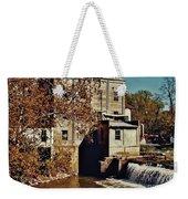 Old Mill In Autumn Weekender Tote Bag