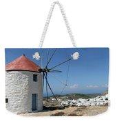 Old Mill In Greece Weekender Tote Bag