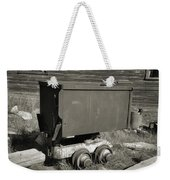 Old Mining Cart Weekender Tote Bag
