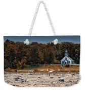 Old Mission Point Light House 01 Weekender Tote Bag