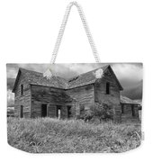 Old Montana Farmhouse Weekender Tote Bag
