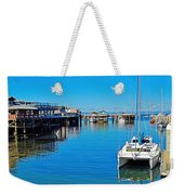 Old Monterey Wharf Weekender Tote Bag