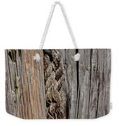 Old Moorings With Rope Weekender Tote Bag