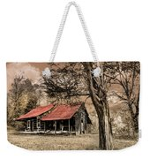Old Mountain Cabin Weekender Tote Bag