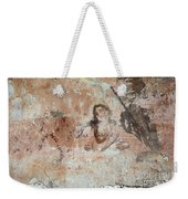 Old Mural Painting In The Ruins Of The Church Weekender Tote Bag
