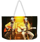 Old Neil And Young Neil Together Weekender Tote Bag