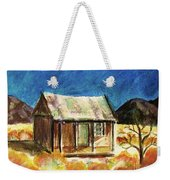 Old New Mexico Cabin Weekender Tote Bag