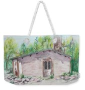 Old New Mexico House Weekender Tote Bag
