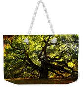 Old Old Angel Oak In Charleston Weekender Tote Bag by Susanne Van Hulst