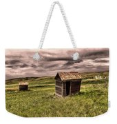 Old Outhouses Weekender Tote Bag