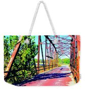 Old Ozark Trail Bridge Weekender Tote Bag