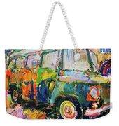 Old Paint Car Weekender Tote Bag