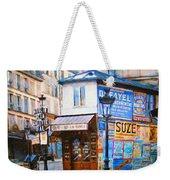Old Paris Cafe Weekender Tote Bag