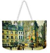 Old Paris Weekender Tote Bag