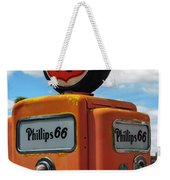 Old Phillips 66 Gas Pump Weekender Tote Bag