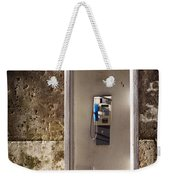 Old Phonebooth Weekender Tote Bag