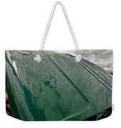 Old Pickup Truck Hood Weekender Tote Bag